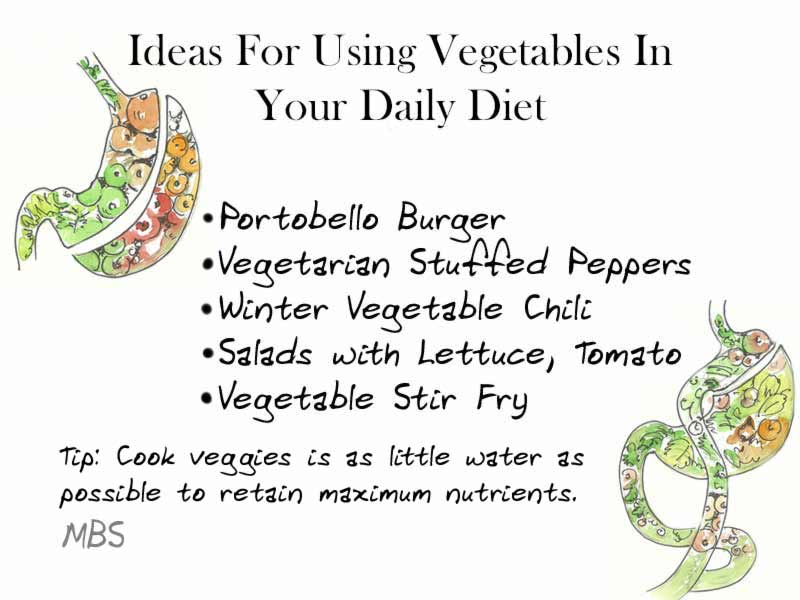 Vegetables in Diet Post Weight Loss Surgery