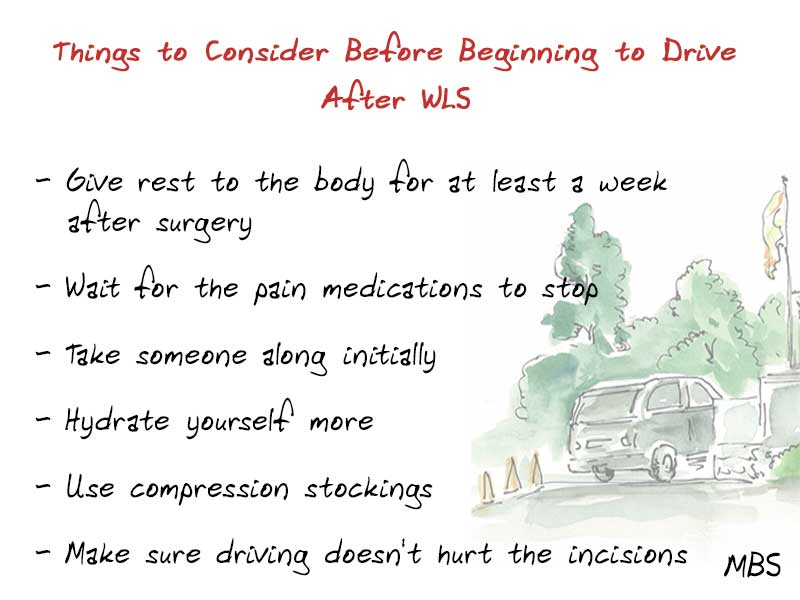 Driving After Bariatric Surgery