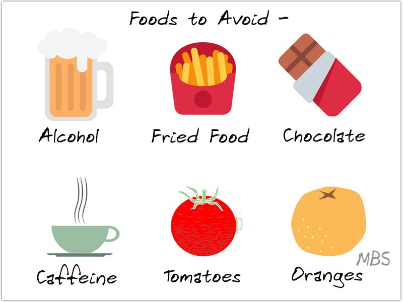 Food to Avoid Acid Reflux Post WLS