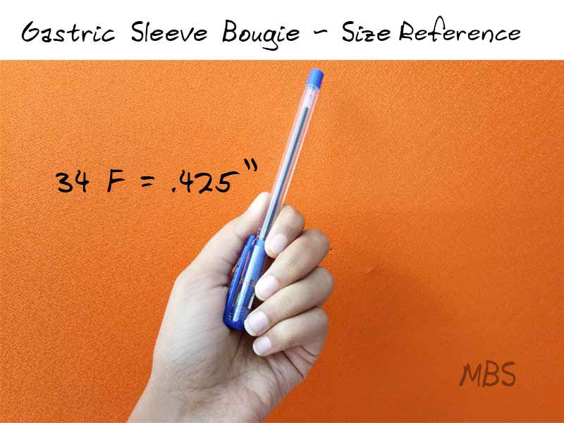 Gastric Sleeve Surgery Bougie Size
