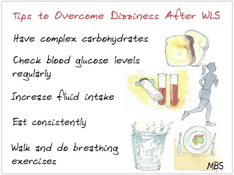 Tips to Overcome Dizziness After WLS