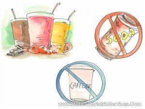 Gastric Bypass Diet - no soda or caffeine