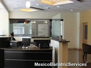 Reception Area - Florence Hospital - Tijuana