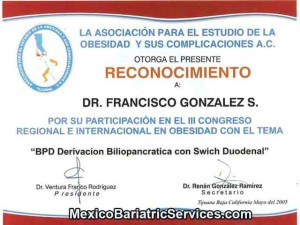 BPD Surgery Certification - Tijuana