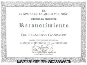Obesity Surgery Certificate - Tijuana