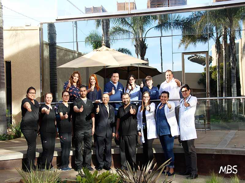 Staff at Oasis of Hope Tijuana