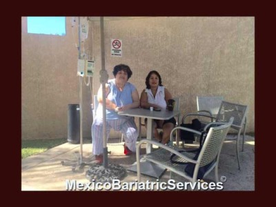 Ana after her gastric sleeve in Tijuana