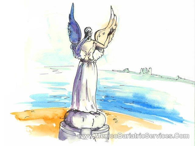 Angel of Hope - Malecon - Puerto Vallarta, Mexico