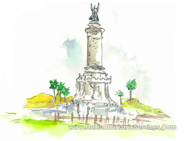 Benito Juarez (statue) in Ciudad Juarez - Mexico
