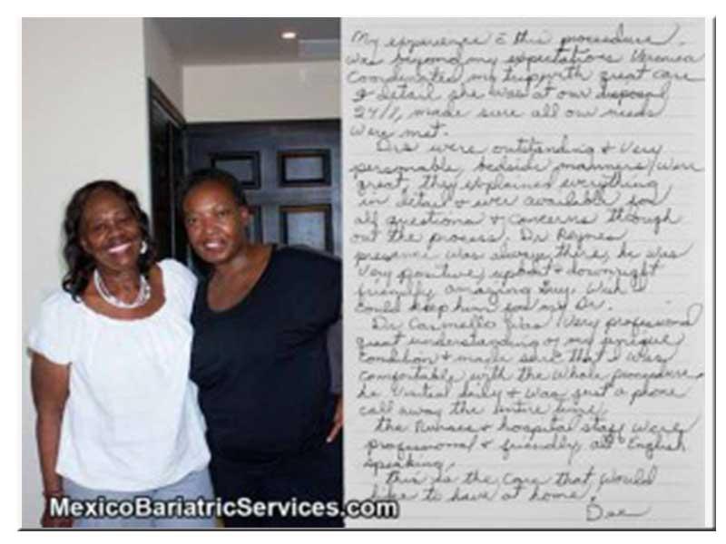 North Carolina Resident Reviews Bariatric Surgery in Mexico