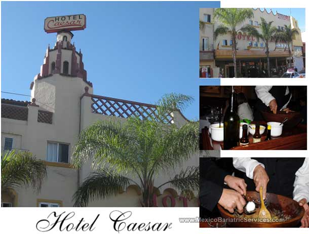 Hotel Caesar in Tijuana Mexico