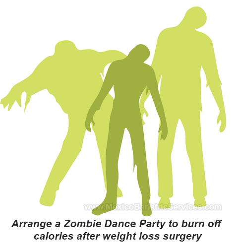 Zombie Dance Party - Bariatric Tip