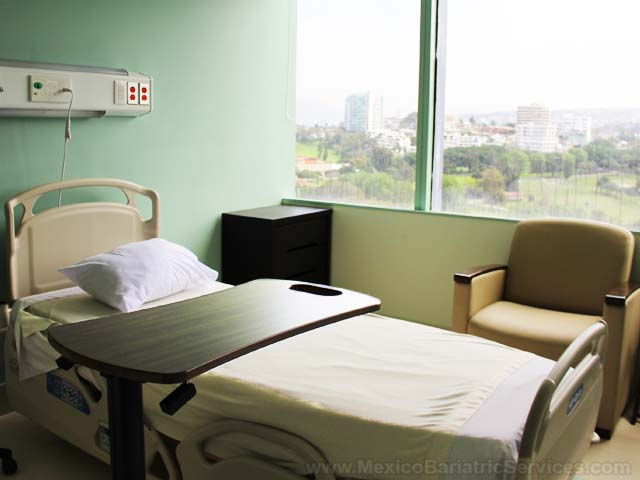Patient Room - LIMARP Hospital in Tijuana Mexico