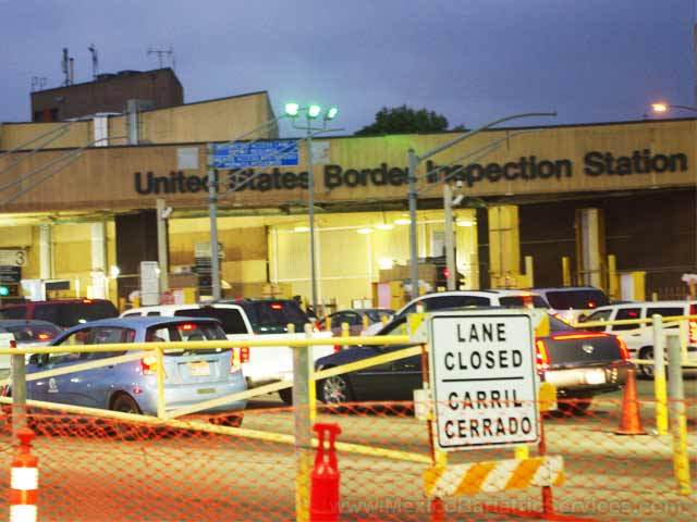 Border Crossing - San Diego and Tijuana - Mexico
