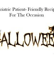 Healthy Recipes for Your Halloween Party – Post Bariatric Surgery