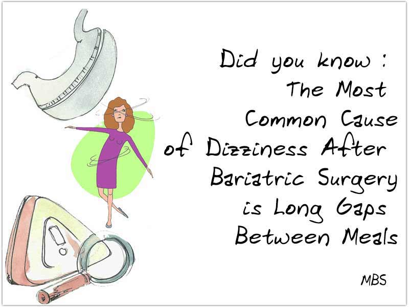 Dizziness After Bariatric Surgery