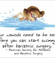 Why Waiting to Swim After Bariatric Surgery is A Good Idea!