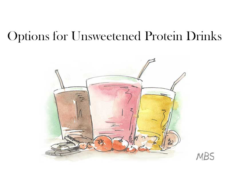 Avoiding Sweet Protein Drinks Post WLS