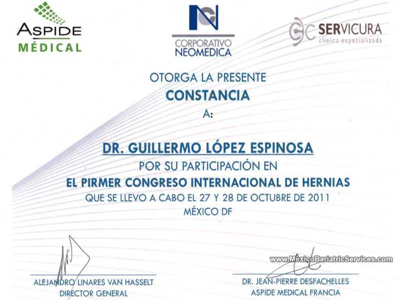 Dr. Guillermo Lopez Hernia Surgery Tijuana